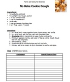 RECIPE: No Bake Cookie Dough