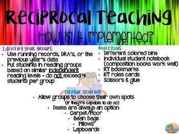 RECIPROCAL TEACHING - Implementing the future of Successful Reading Strategies