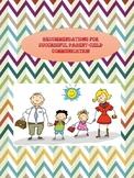 RECOMMENDATIONS FOR SUCCESSFUL PARENT-CHILD COMMUNICATION