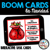 RECONOCE LA NAVIDAD, Christmas Boom Cards in Spanish, Distance Learning