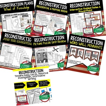 RECONSTRUCTION BUNDLE (AMERICAN HISTORY BUNDLE)
