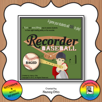 Recorder Baseball - BAGED Version