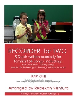 RECORDER DUETS Part One