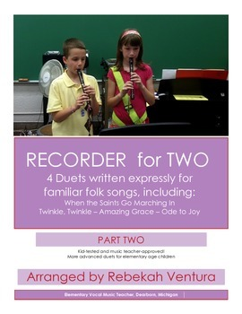 RECORDER DUETS Part Two