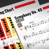 RECORDER SHEET MUSIC: Symphony No. 40 - Wolfgang Amadeus Mozart