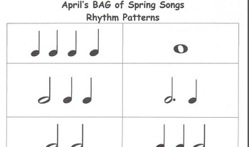 RECORDERS April's BAG of Spring Songs