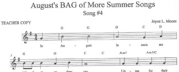 RECORDERS August's BAG of More Summer Songs