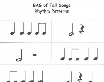 RECORDERS BAG of Fall Songs