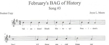 RECORDERS February's BAG of History