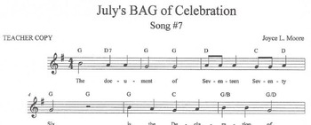 RECORDERS July's BAG of Celebration