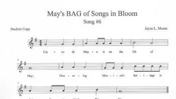 RECORDERS May's BAG of Songs in Bloom
