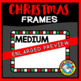 RECTANGLE CHRISTMAS CLIPART BORDERS AND FRAMES