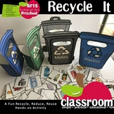 RECYCLE IT - HANDS-ON 3D RECYCLE CRAFTIVITY ACTIVITY