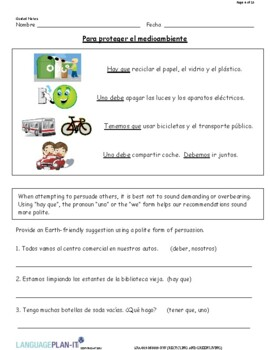 RECYCLING AND GREEN LIVING (SPANISH 2016 EDITION)