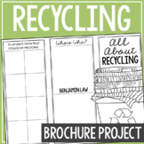 RECYCLING: Earth Science Research Brochure Template Project