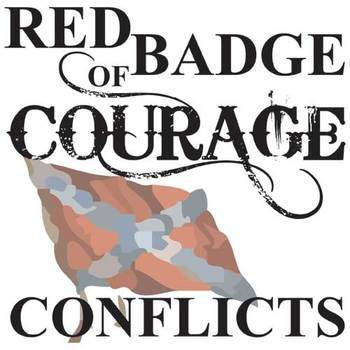RED BADGE OF COURAGE Conflict Graphic Organizer - 6 Types of Conflict
