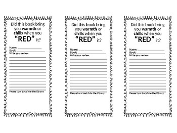 RED Book Event