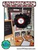 RED CHEVRON Classroom Decor - EDITABLE Clutter-Free Classr