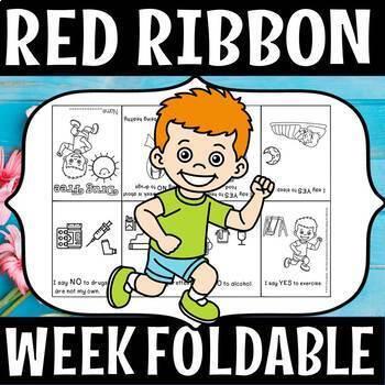 RED RIBBON WEEK FOLDABLE