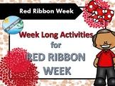 RED RIBBON WEEK - weeklong activities (PTA, PTO)