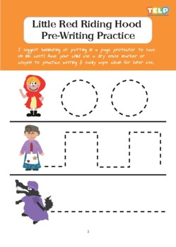 RED RIDING HOOD - WORKSHEETS PACK