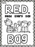 RED (Read Every Day) BAG