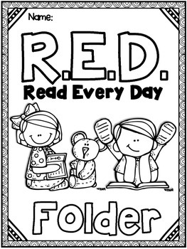 Take Home Reading EDITABLE RED Read Every Day Folder And Reading Log 369355 on Editable Sight Word Worksheets 2