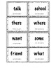 Sight Words: Flashcards and BINGO Boards for PAF book D-F