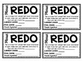 REDO Assignment Slip