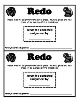 REDO notice