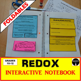 REDOX: Oxidation and Reduction Interactive Notebook