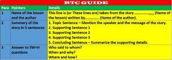 REFERENCE TO CONTEXT (RTC) GUIDE: HANDOUT