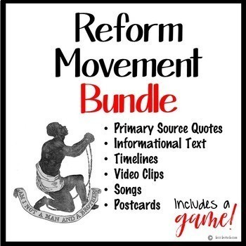 REFORM MOVEMENT ACTIVITY AND GAME BUNDLE