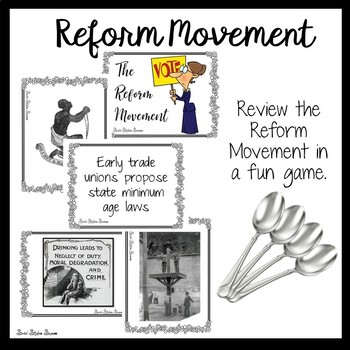REFORM MOVEMENT REVIEW GAME