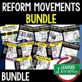 REFORM MOVEMENTS BUNDLE (AMERICAN HISTORY BUNDLE)