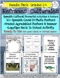 REFRANES-Spanish Cultural Sayings Posters & Lessons in Pow