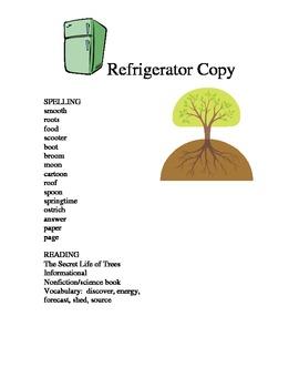 REFRIGERATOR COPY:  The Secret Life of Trees