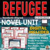 REFUGEE by Alan Gratz - Novel Study Unit  - Digital Distance Learning and Print