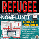 REFUGEE by Alan Gratz - Novel Study Unit  - Digital Distan