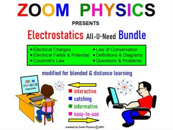 PHYSICS ELECTRICITY: Electrostatics, Charges, Coulomb's