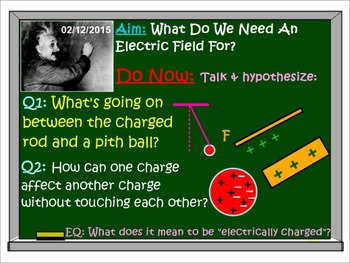 PHYSICS ELECTRICITY Electrostatics Electric Field Potential Test Prep Worksheets