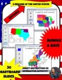 REGIONS OF UNITED STATES SMART BOARD SLIDES *BUNDLE/ EDITABLE