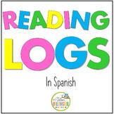 REGISTRO DE LA LECTURA - READING LOGS {IN sPANISH}