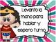 REGLAS DEL SALON CON SUPER HEROES.