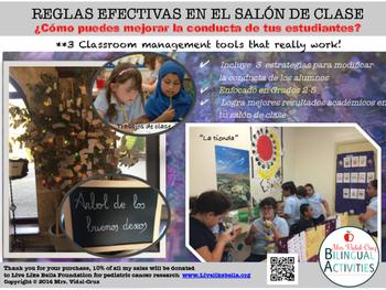 REGLAS EFECTIVAS EN EL SALÓN DE CLASE- Estrategias para mejorar la conducta.