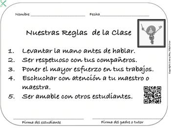 REGLAS EFECTIVAS EN EL SALÓN DE CLASE- Free Sample Product