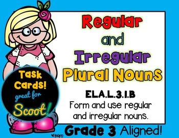 Regular and Irregular Nouns