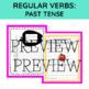 REGULAR VERBS PAST TENSE (& Past Participle)  APPLES Decoration