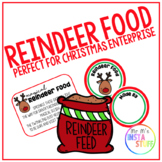 REINDEER FOOD // PRINTABLE POEM AND LABEL // IDEAL FOR CHR