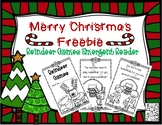 REINDEER GAMES...A FREE Emergent Reader for Christmas